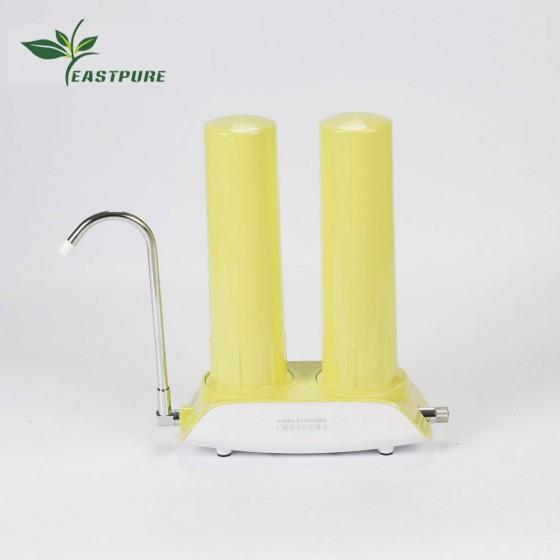 Counter top EC-1S-10C-Z01 Ningbo Eastcooler one-stage clear housing home water filter system