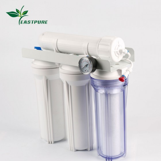 ECRO4S-B 4 stages pumpless water filter for Aquarium use