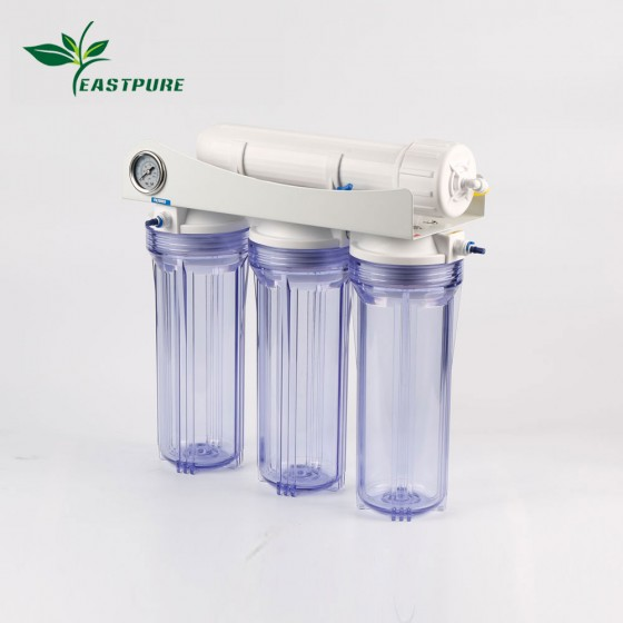 ECRO4S-C High flow 4 stages Reverse Osmosis water purifer for Aquarium use