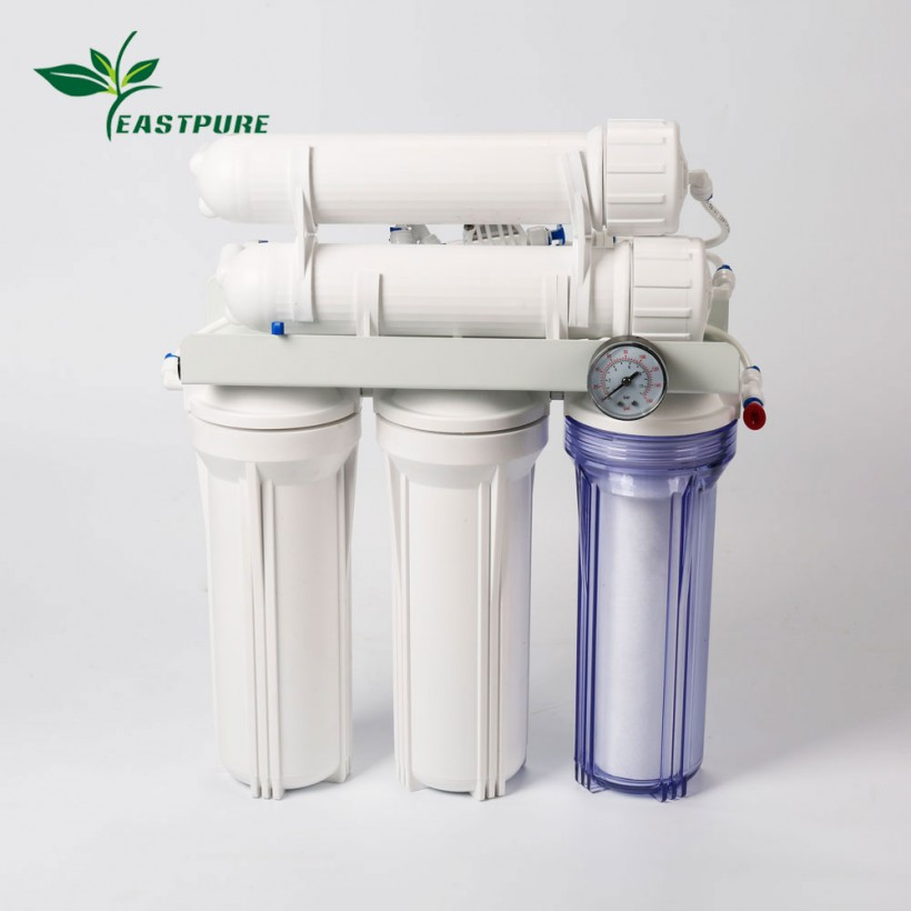 ECRO5S-B High flow 5 stages RO system water filter for Aquarium