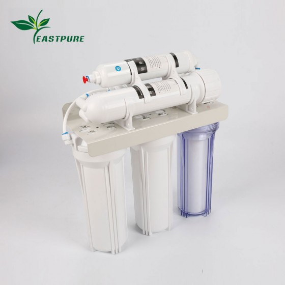 ECRO5S-A High flow 5 stages RO system without pump water purifier