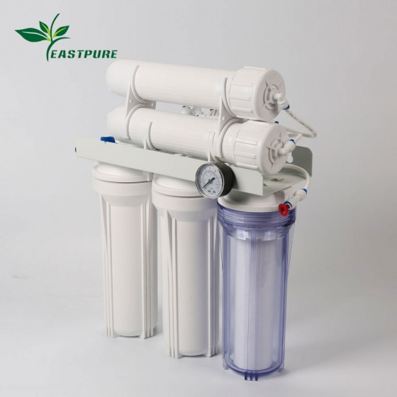 ECRO5S-B High flow Household 5 stages RO system water filter without pump