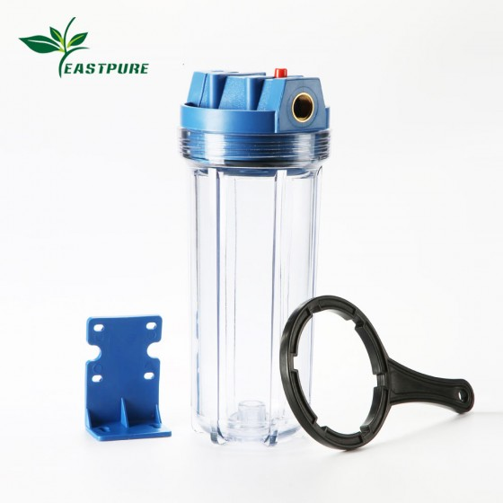 FH1013 10 inch Water Filter Housing Standard with bracket and wrench