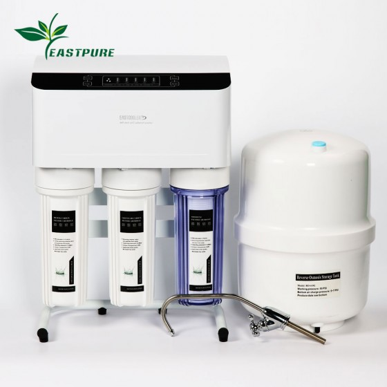 EC-CR315 High Quality 6 stages RO water purifier with LED display