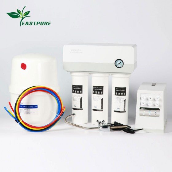 EC-CU253 Residential Reverse Osmosis Water Purifier with Pump box