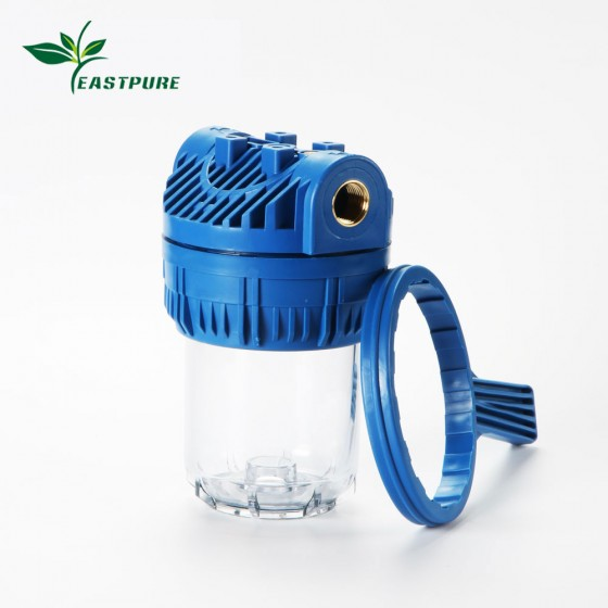 ITH0502 portable washing machine filter housing with Polyphosphate Crystal Filter