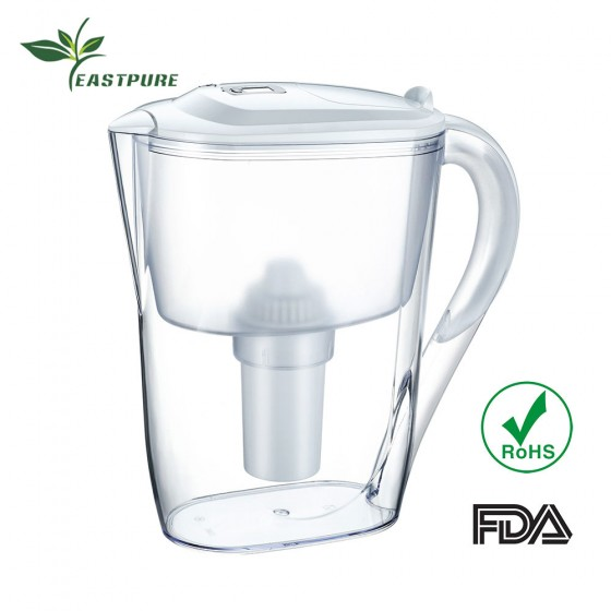 HOT EC-268A-Z01 Eastcooler active carbon Remove Chlorine alkaline Water filter pitchers household