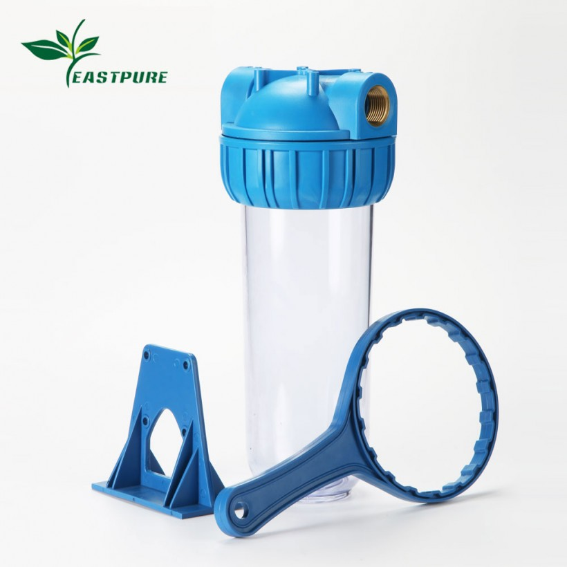 ROH01 home using clear blue single water filter housing