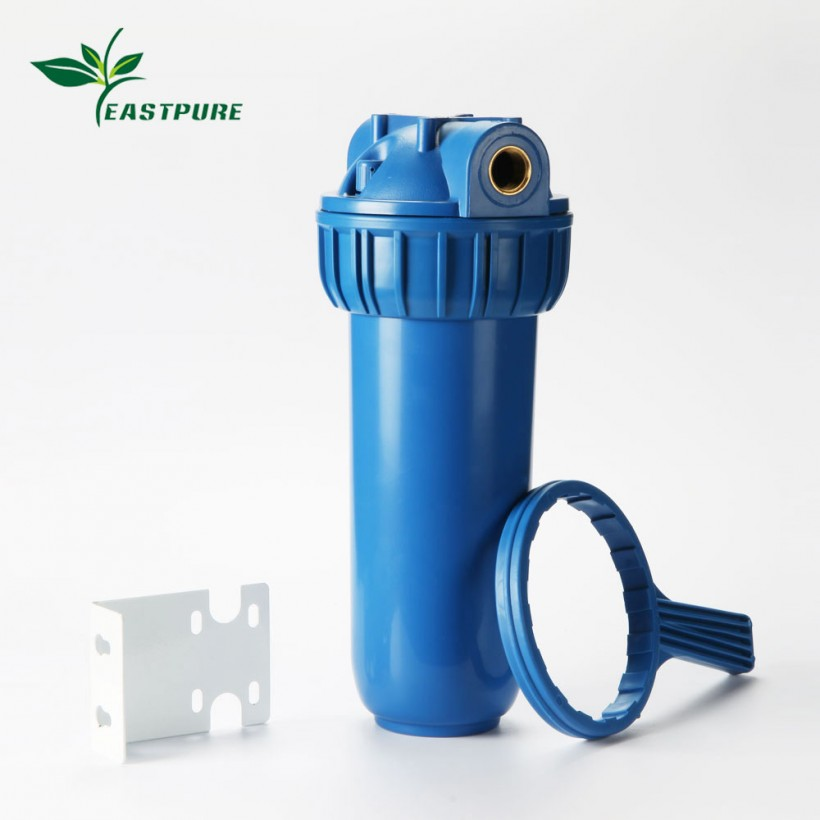 ROH01B  blue water filter housing can be with different type of 10 inch filter cartridges