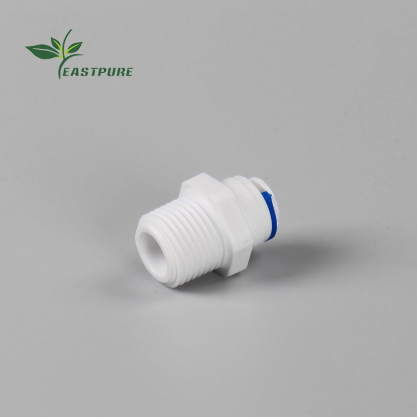 EF023 PUDEKANG Male straight thread pipe adapter quick fitting