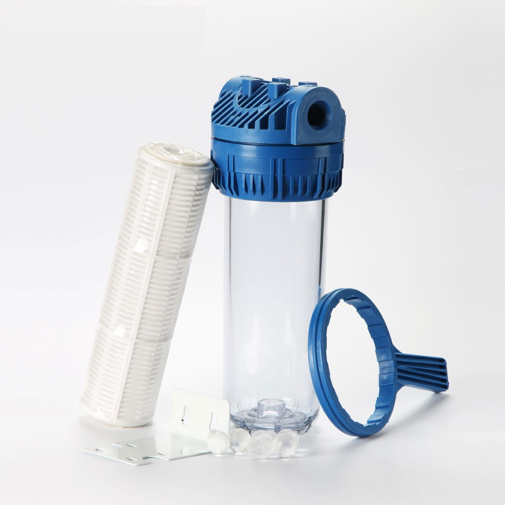 Roh03 Standard 10 Inch Clear Plastic Water Filter