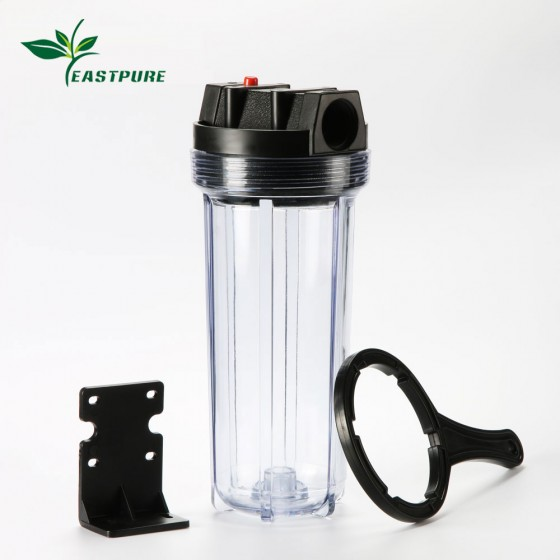 10BCH02 10 inch pleastic transparent water filter housing for water purifier